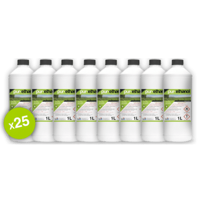 Bioéthanol 25x1 litre